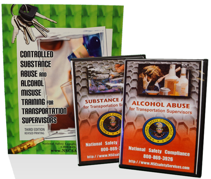Drug Abuse & Alcohol Misuse, CDL Driver Training DVD Package